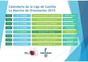 Calendario Liga CLM